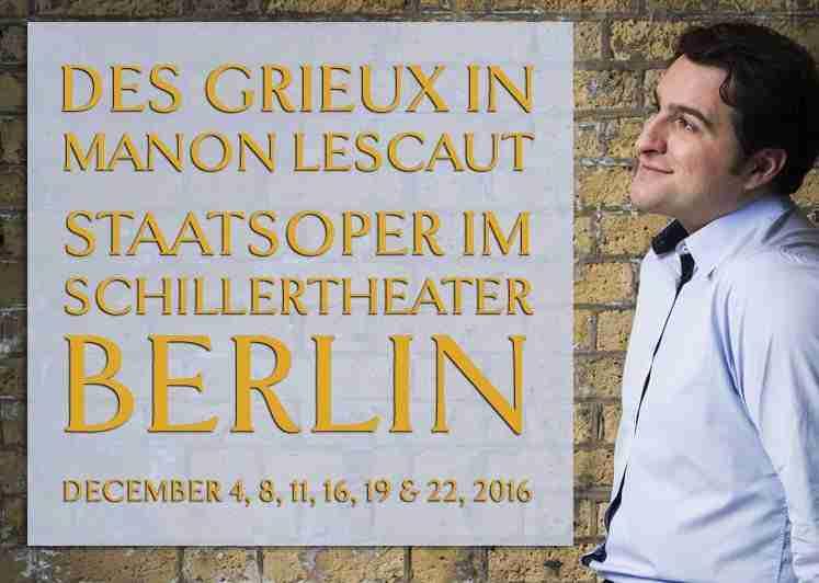 Manon Lescaut at the Berliner Staatsoper im Schillertheater